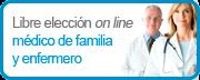 Libre elección online médico de familia y enfermero