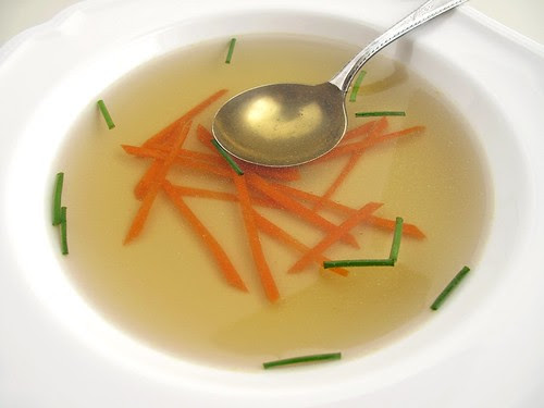 chicken consomme