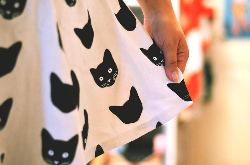 cat skirt