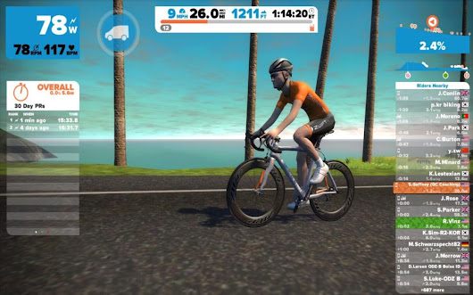 Zwift: First Time Logging In