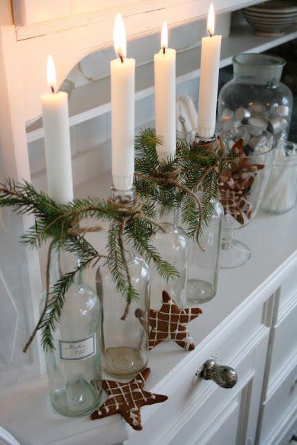 Julebord pynt