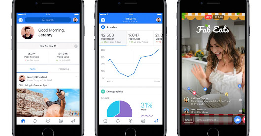 Facebook made an app just for video creators