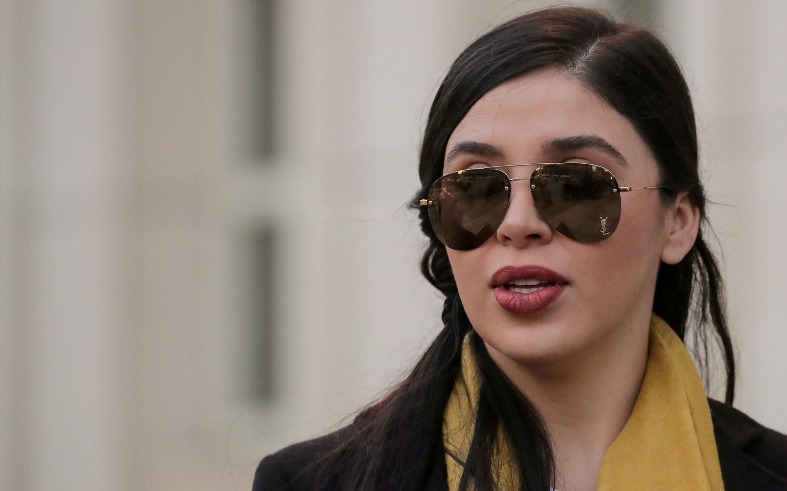 El Chapo's wife facing life in prison and $10m fine as she is ordered to remain in US jail
