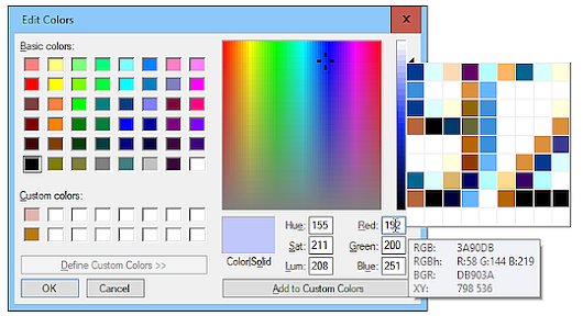 Quick Fix for Inserting Color Data into Windows Paint (AutoHotkey Tip)
