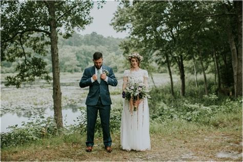 Mark   April   New York Peconic River Herb Farm Wedding
