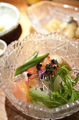 十種野菜の豆腐サラダ, 名代とんかつ かつくら 京都三条, 新宿タカシマヤ