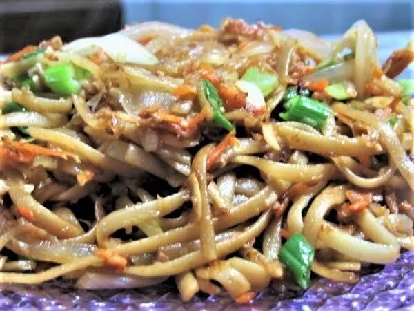 Pan Fried Noodles