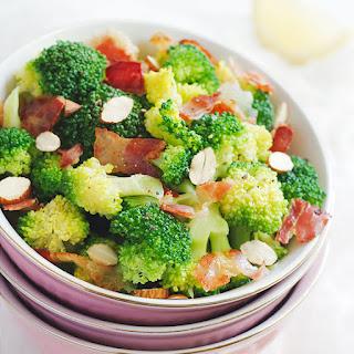 Broccoli Salad with Crispy Bacon