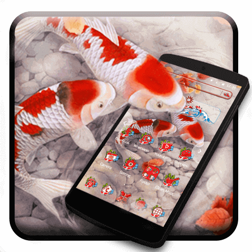 Vivid Koi Fish Launcher