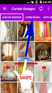 Curtain Designs- screenshot thumbnail