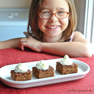 Gingerbread Bars/Review of Esther Brody's 250 Best Bars and Brownies
