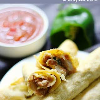 Gluten-Free Baked Pinto Bean Taquitos (Vegan, Allergy-Free).