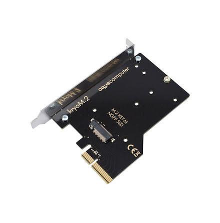 AquaComputer kryoM.2 PCIe 3.0 x4 adapter for M.2 NGFF PCIe SSD, M-Key