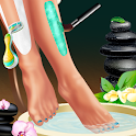 Legs Spa and Dress up icon
