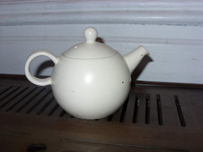 Photo: Tsuki teapot from Rishi. This is the cutest most useful little pot I've ever owned.