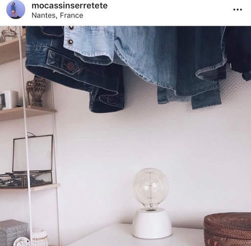 jeux concours instagram gagner votre lampe en béton junny avec Mocassin Serre Tete