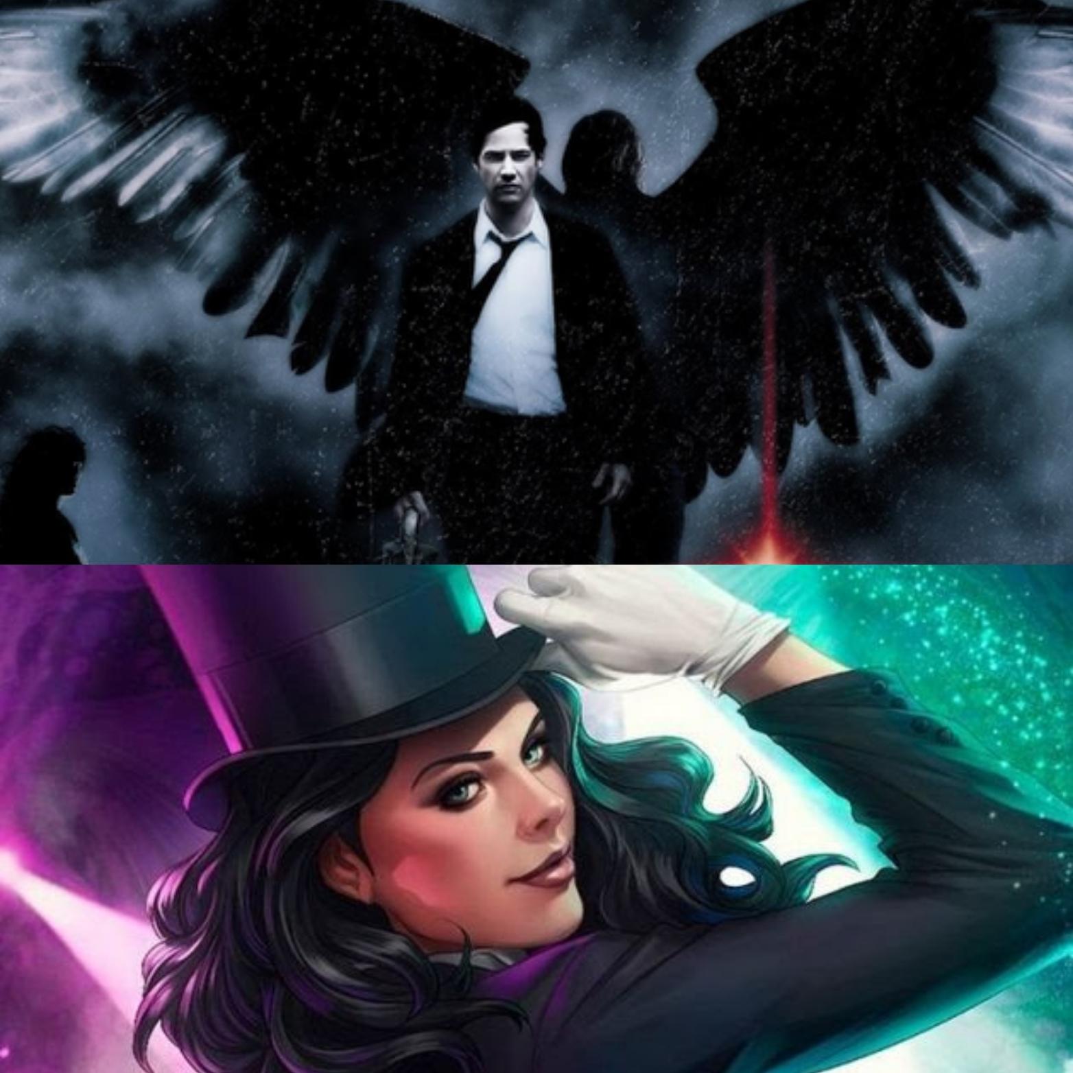 WARNER Planeja Novo Filme de CONSTANTINE (com Keanu Reeves no papel) e um possível filme da Zatanna