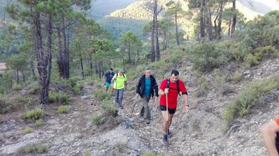 Photo: Ascendiendo al Pico del Oso.