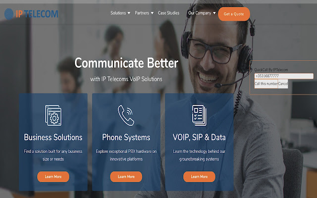 IPTelecom Browser Call