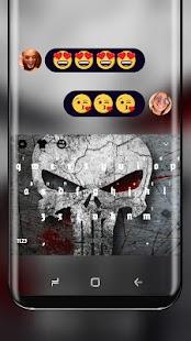 Skull Keyboard Graffiti Style - náhled