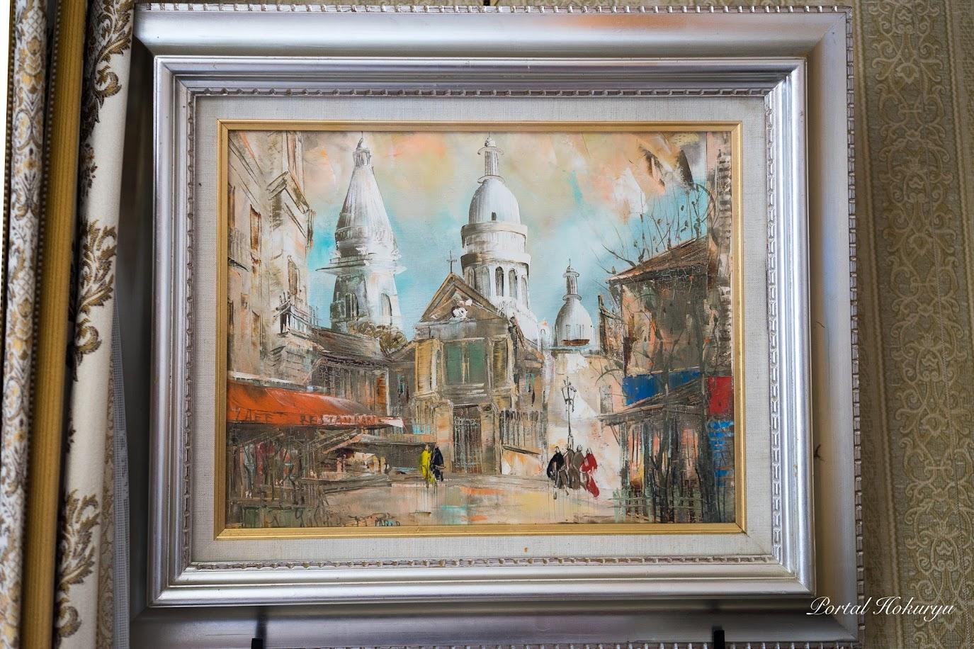 ヨーロッパ研修で買い求めた絵画