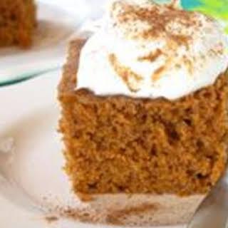 Pumpkin pie with almond meal (Crock Pot).