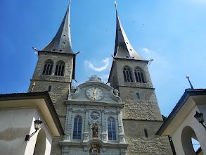 Photo: kostel sv.Leodegar je nejvýznamnější církevní stavba švýcarské renesance