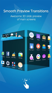 CM Launcher 3D - HD Theme & Live Wallpaper Screenshot