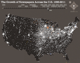 """Photo: Image featured in """"Visualization deconstructed: Why animated geospatial data works"""" http://radar.oreilly.com/2011/10/animated-geo-data.html 4:13 PM"""