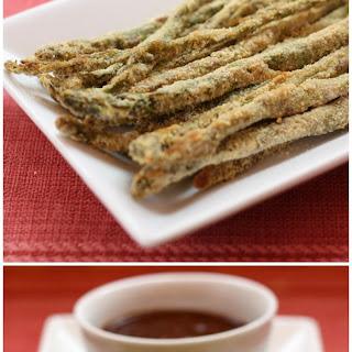 Cornmeal Crusted Asparagus