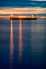 "Photo: ""Like ships in the night"" -vancover canada (tonight) with +Julie Jamieson +Graham Knights & +Allison Knights"