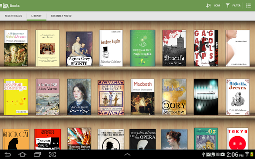 Aldiko Book Reader screenshot 8