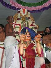 Photo: Srinivasa on Garuda sevai