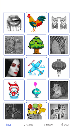 Sandbox Pixel Coloring Pages for Color by Number 16 screenshots 2