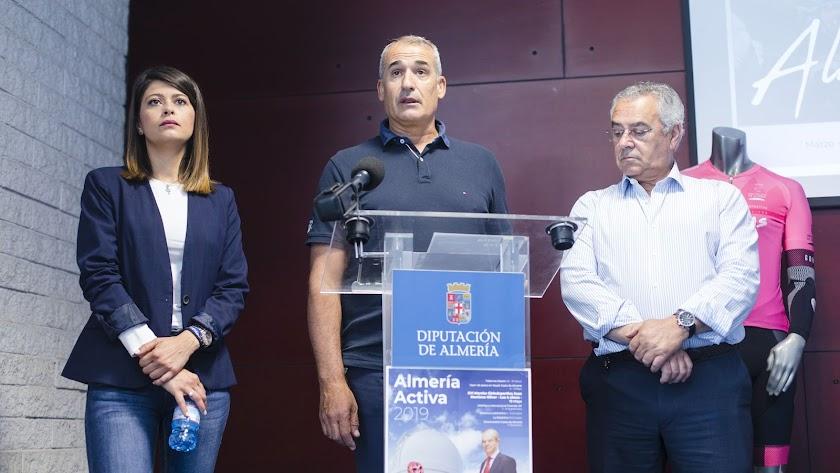 Presentación de la prueba en la Diputación de Almería.