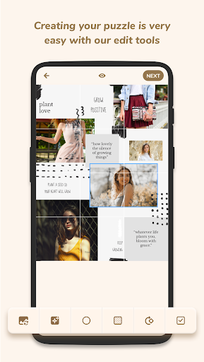 Puzzle Collage Template for Instagram - PuzzleStar 3.1.4 screenshots 5