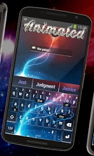 Thiên hà chiến tranh Keyboard Hoạt hình Mod