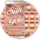 Rose Gold Silk Keyboard Theme icon
