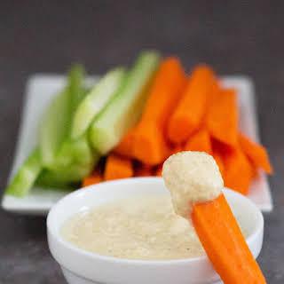 Healthy Yogurt Curry Dip.