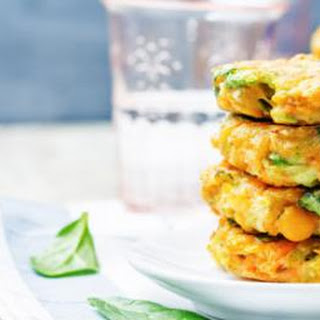 Thai Chickpea and Corn Cakes.