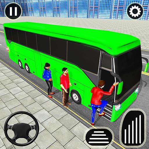 Cidade Treinador Ônibus Dirigindo Simulador