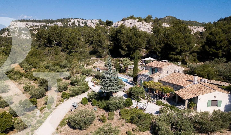 Maison avec piscine Les Baux-de-Provence