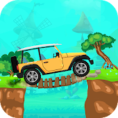 2D Jeep Racing Adventure
