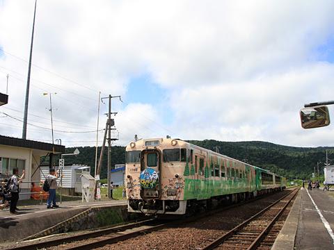 JR北海道 観光列車「風っこそうや」 音威子府にて_08