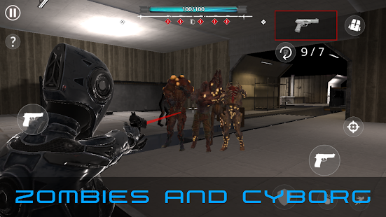 CyberSoul - Evil rise : Zombie Resident 2 Screenshot