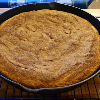 Skillet Snickerdoodle Cookie