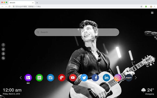 Shawn Mendes New Tab Top Singer HD Themes