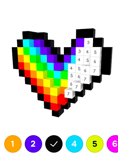 3D No.Draw – Color by Number for PC
