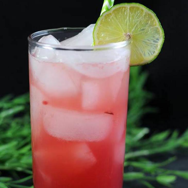 Ginger Cherry Smash Recipe