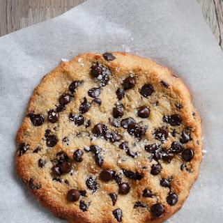 Single Serve Jumbo Low Carb Chocolate Chip Cookie.